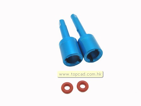 Alloy Front & Rear Propeller Joint (2) for TT-01