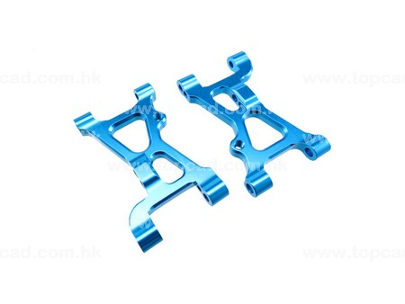 Alloy Front Lower Arm  / (2) for XV-01