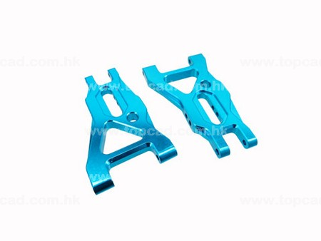 Alloy Front Lower Arm  / (2) for DT-03
