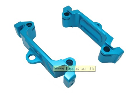 Alloy Front & Rear Brace Holder (2) for LC40