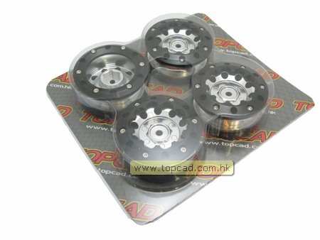 Alloy 10-hole Wheel (4) for Pickup Truck