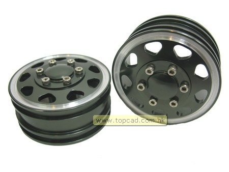 Alloy Front Wheel for Tractor Truck