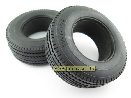 Rubber Tire for Tractor Truck Wide Version (2)
