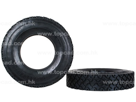 T2 Rubber Tire for Tractor Truck (2) All Terrian