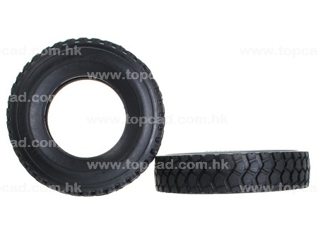 Rubber Tire for Tractor Truck (2) / M+S