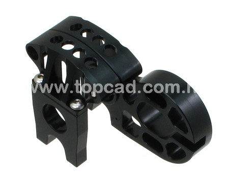 Alloy EXO Motor Mount System for Axial EXO