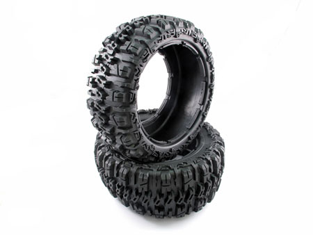 Rear tire set (2) Pattern: All Terrian for 1/5 Baja 5T