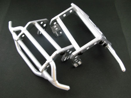 Alloy Front & Rear Bull Bar for SCX10