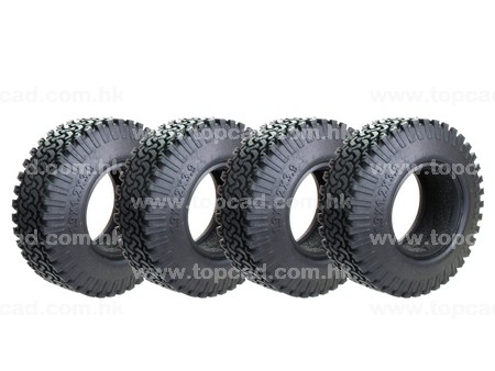 All Terrian Tire for SCX10 / 1.9( 4)