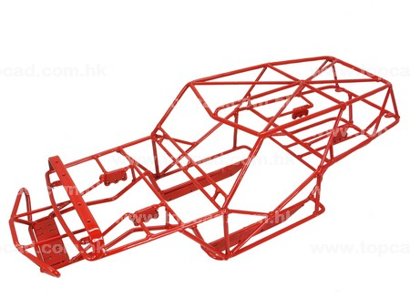 Steel Outer Cage for Axial Wraith