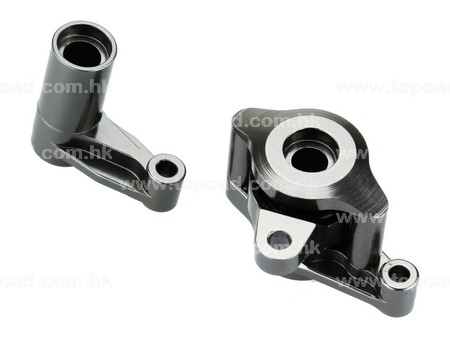 Alloy HD Steering Bellcrank set (2) for 1/10 YETI