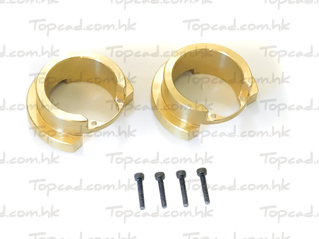 Brass Knuckle Weight Basic Ver. (2) for TRX4