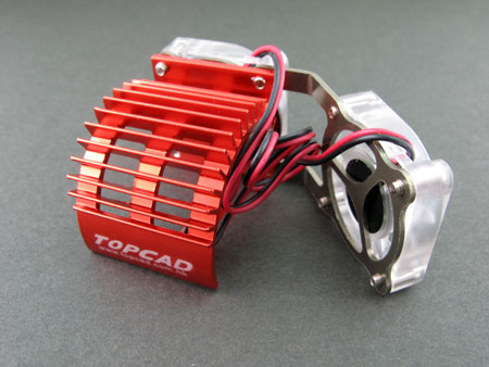 Twin Fans Heat Sink for 540 Motor
