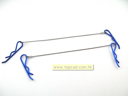 Cable color body clips for 1/8 RC car