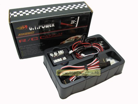1/10 RC car LED system