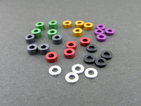 3mm Alloy Washer Set