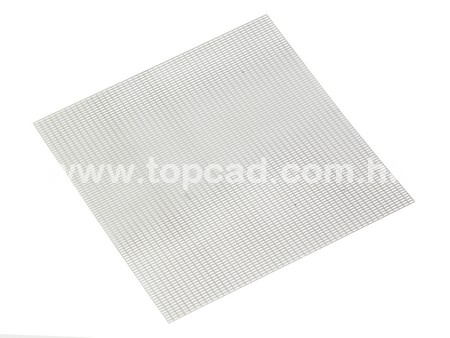 Front Grill material for Model Car / Rectangle