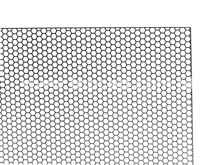 Front Grill material for Model Car / S Hexagon