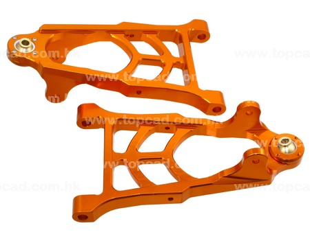 Alloy Front lower arm (2) for 1/5 Baja or KM Baja