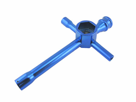 Cross wrench 5.5,7,8,10,12 & 17mm