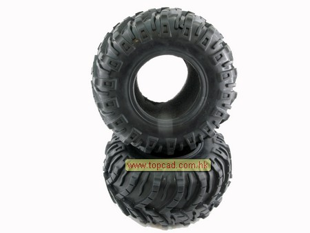 2.2 Tire only (2) / pattern E for Crawler