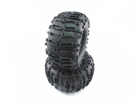 2.2 Tire only (2) / pattern F for Crawler