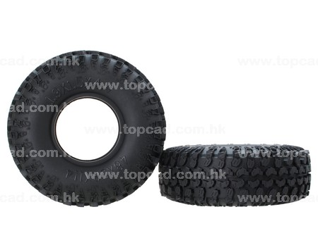 1.9 Tire only  (2) / MT for Crawler