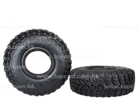 1.9 Tire only  (2) / MT3 for Crawler