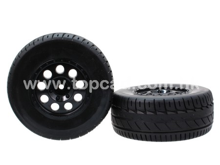 9H Wheel & Tire set for On-road SHort Course (2)