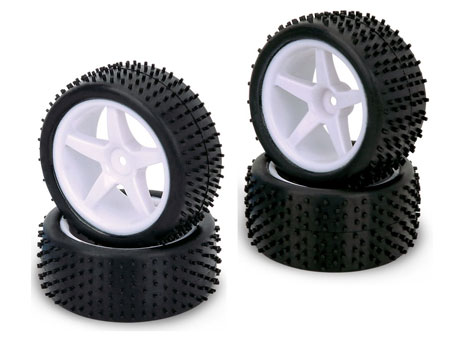 1/10 Combination Wheel & Tire set / Hole-Shot (4)