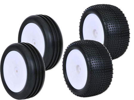 1/10 2WD Buggy Wheel & Tire set (4)