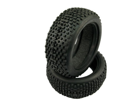 Parallel Pin Soft Tire for 1/10 Buggy / Rear (2)