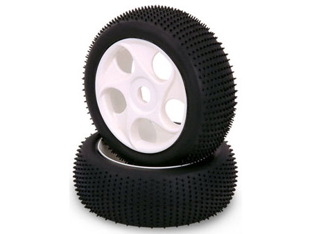 1/8 Buggy Wheel & Tire set 5-hole (2)