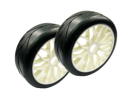1/8 Buggy Wheel & Tire set 10 Y-spoke (2)