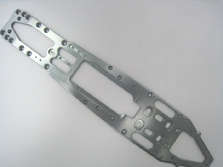 Hardcoated chassis for SHEPHERD V8