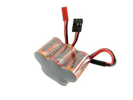 Sport VBpower 5 cell 1600mAh Ni-MH (3+2) For Receiver