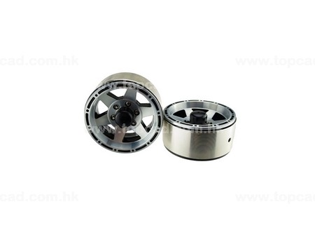 1.9 HM Beadlock Alloy Wheel Star-6 (2)