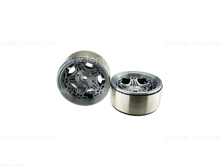 1.9 HM Beadlock Alloy Wheel Devil-5 (2)