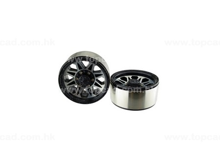 1.9 HM Beadlock Alloy Wheel Devil-8 (2)