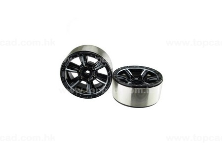 1.9 HM Beadlock Alloy Wheel Splite-6 (2)