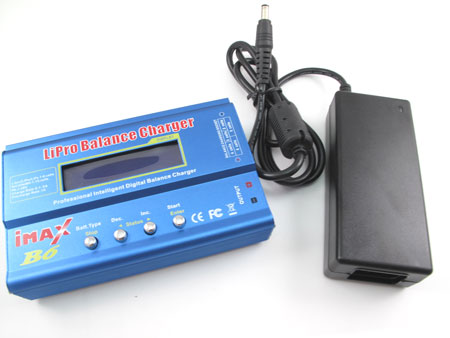 iMAX B6 Balance Charger / Discharge with AC Power Supply