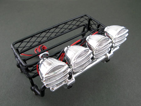 Luggage Roof Tray with Sport Light / large
