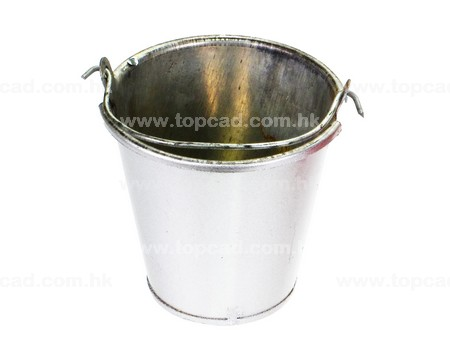 Iron Bucket / large