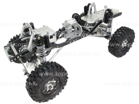 1/10 Assembled Alloy Crawler / compatible with SCX10