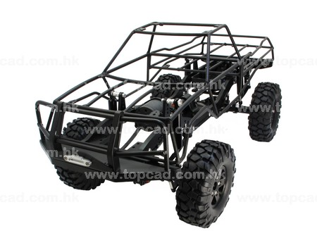 PickUp Truck with Alloy Outer Cage