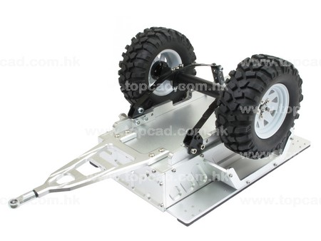 Rear Trailer for all 1/10 Truck and Crawler