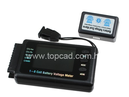 1~8 Cell Battery Voltage Meter