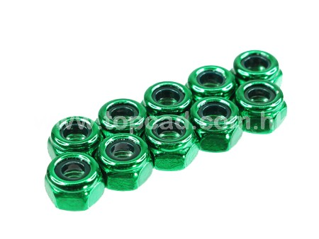 HD 3mm Low Mass Lock Nut set (10)