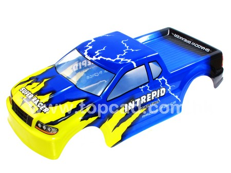 Painted Body for 1/10 Pickup Truck 190mm / blue