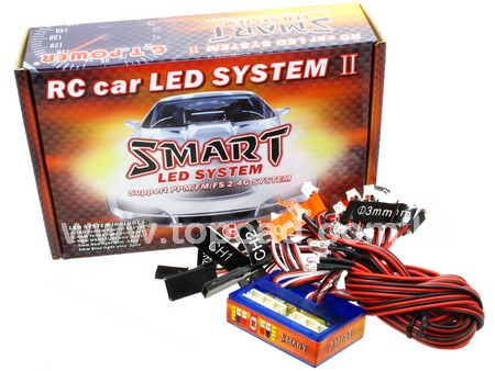 1/10 RC car LED system Ⅱ